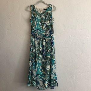 Evan Picone Tropical Dress